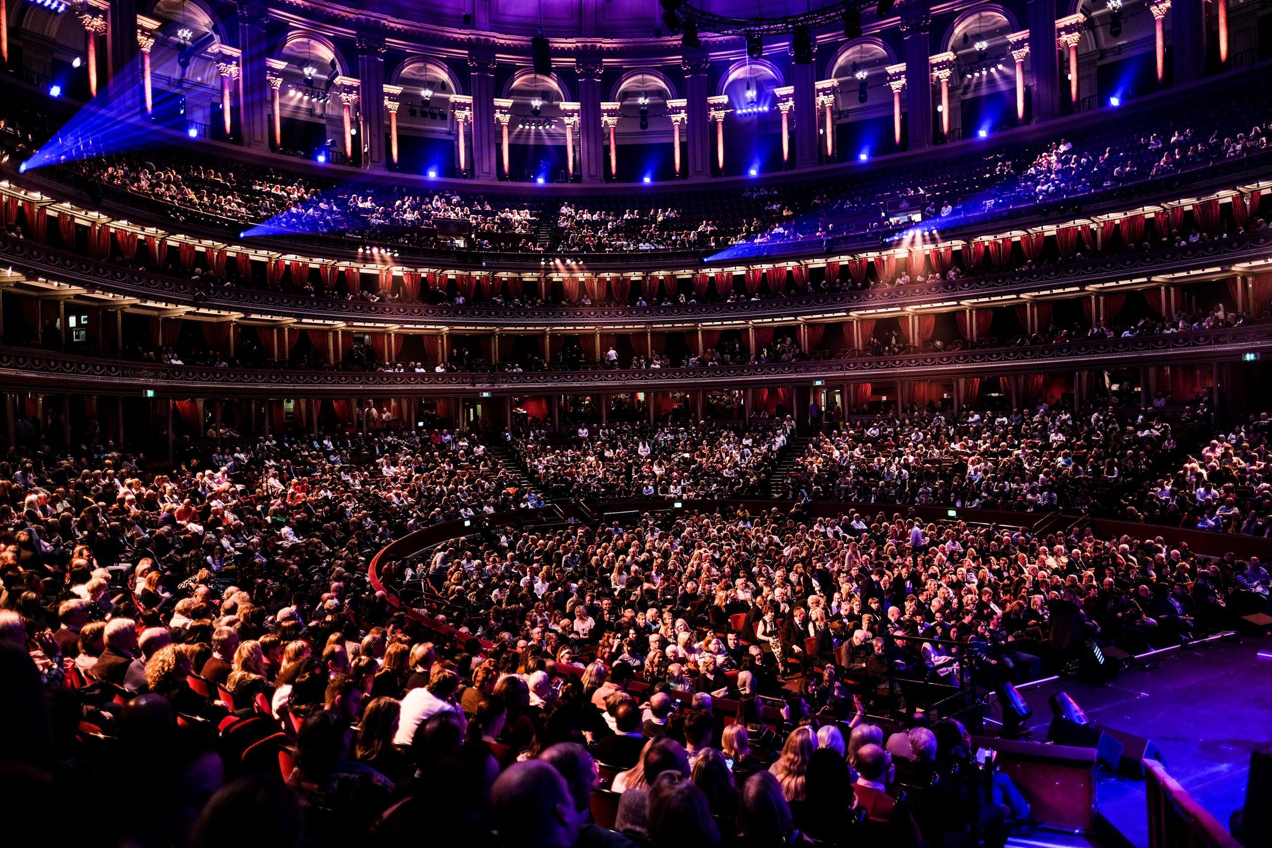 Royal Albert Hall audience